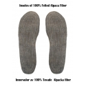 New!! Insoles of Felted Alpaca Fiber (SOLD OUT)