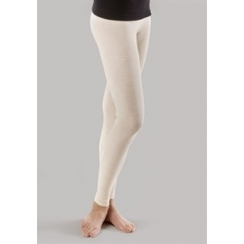 Leggings wool and silk - natur