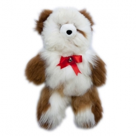 Christma's Teddy Bear - white - 35cm
