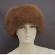 Alpaca Fur Hat: model 1