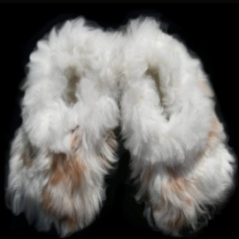 Alpaca Slippers - light