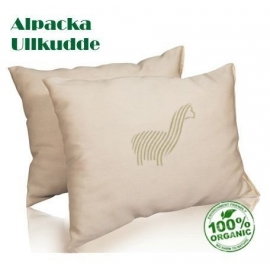 x 2 Alpaca Pillows - Light 650gr