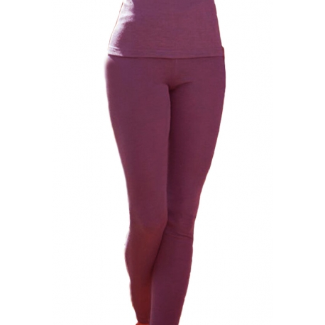 Leggings wool and silk - Orchide