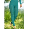 Leggings wool and silk - Ice blue