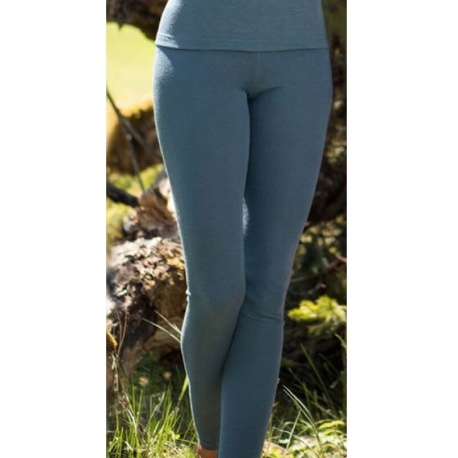Leggings wool and silk - Atlantic